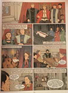 Extrait de Histoire de France en bande dessinée -17- La guerre de Cent Ans les victoires anglaises 1337-1420
