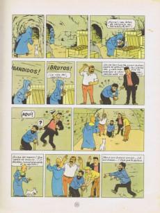 Extrait de Tintín (Las Aventuras de) -9a1971- El Cangrejo de las pinzas de oro