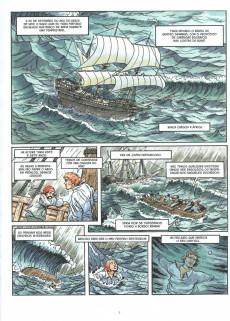Extrait de Clássicos da Literatura em BD -13- Robinson Crusoé
