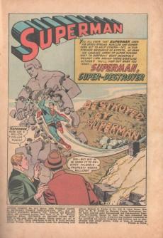 Extrait de Action Comics (DC Comics - 1938) -214- Superman, super destroyer