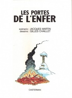 Extrait de Lefranc -5a1980- Les portes de l'enfer