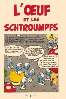 Extrait de Schtroumpfs (Mini-récits) -3MR1147- L'Œuf et les Schtroumpfs
