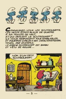 Extrait de Schtroumpfs (Mini-récits) -6MR1244- Le Centième Schtroumpf