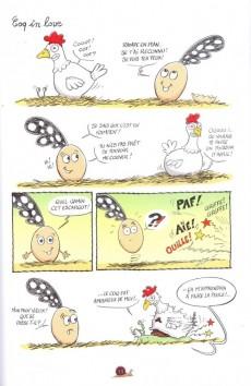 Extrait de Le petit œuf -1- Tchao les poules !