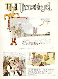 Extrait de Contes et Légendes (Battaglia) -2- Thyl l'espiègle - Les aventures héroïques et joyeuses d'Ulenspiegel