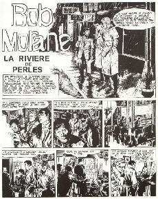 Extrait de Bob Morane 5 (Deligne) -6- La Rivière de perles - La Couronne de Golconde