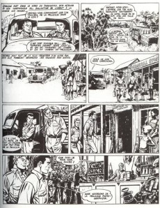 Extrait de Bob Morane 5 (Deligne) -2- La Piste de l'ivoire