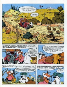 Extrait de Cubitus -4a- La corrida des hippopotames casqués