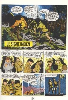 Extrait de La patrouille des Castors -10b82- Le signe indien