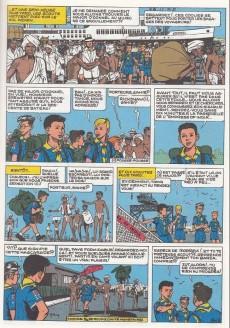 Extrait de La patrouille des Castors -4c- Sur la Piste de Mowgli