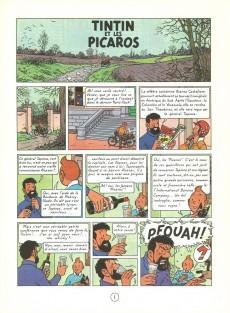 Extrait de Tintin (Historique) -23C1- Tintin et les Picaros