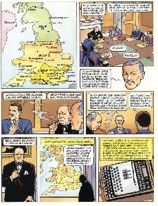 Extrait de Biggles raconte -1- La bataille d'Angleterre
