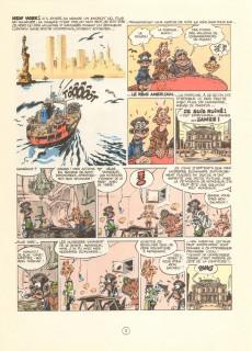 Extrait de Spirou et Fantasio -39Pub- Spirou à New York