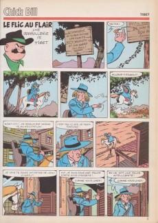 Extrait de (Recueil) Tintin Super -12- Flic