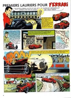 Extrait de Michel Vaillant (Dossiers) -7- Ferrari Enzo, le dernier Empereur