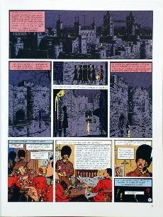 Extrait de Blake et Mortimer (Historique) -5TL3- La Marque Jaune