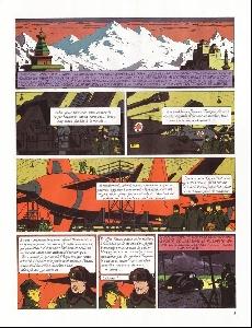 Extrait de Blake et Mortimer -1b90- Le Secret de l'Espadon - Tome 1