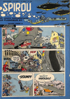 Extrait de (Recueil) Spirou (Album du journal) -63- Spirou album du journal