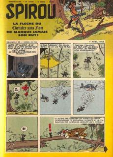 Extrait de (Recueil) Spirou (Album du journal) -61- Spirou album du journal