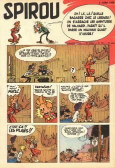 Extrait de (Recueil) Spirou (Album du journal) -46- Spirou album du journal