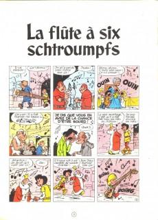 Extrait de Johan et Pirlouit -9- La flûte à six schtroumpfs