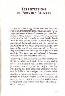Extrait de (AUT) Jacobs, Edgar P. -11- Edgar P. Jacobs ou Les entretiens du Bois des Pauvres