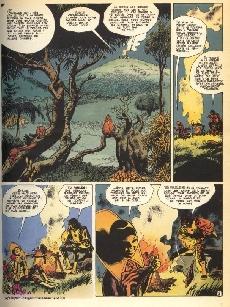 Extrait de Le vagabond des Limbes -3a1980- Les charognards du cosmos