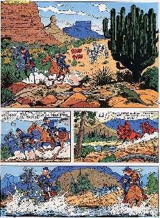 Extrait de Les tuniques Bleues -17a1982- El Padre