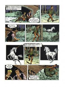 Extrait de Robert et Bertrand -42- La licorne