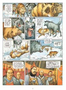 Extrait de Cinjis Qan -3- La colère du loup-bleu
