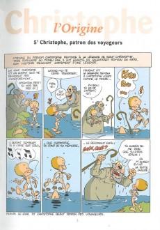 Extrait de L'encyclopédie des Prénoms en BD -7- Christophe