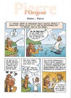 Extrait de L'encyclopédie des Prénoms en BD -1- Pierre