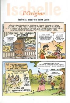 Extrait de L'encyclopédie des Prénoms en BD -4- Isabelle