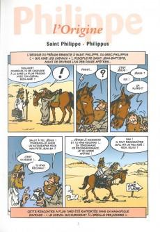 Extrait de L'encyclopédie des Prénoms en BD -8- Philippe