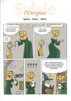 Extrait de L'encyclopédie des Prénoms en BD -10- Sylvie
