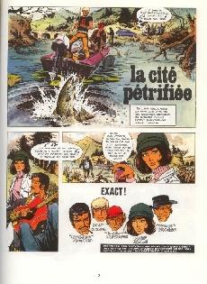 Extrait de Bruno Brazil -4c1985- La cité pétrifiée