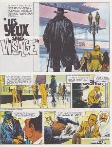 Extrait de Bruno Brazil -3c1987- Les yeux sans visage