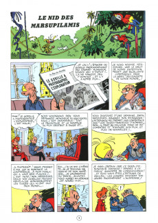 Extrait de Spirou et Fantasio -12ES- Le nid des Marsupilamis