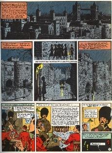 Extrait de Blake et Mortimer (Historique) -5d82'- La Marque Jaune