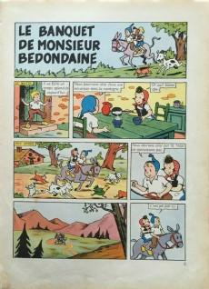 Extrait de Sylvain et Sylvette (02-série : nouvelles aventures de Sylvain et Sylvette) -8- Le banquet de Monsieur Bedondaine