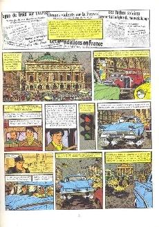Extrait de Blake et Mortimer (Historique) -7a80- S.O.S. Météores - Mortimer à Paris