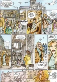 Extrait de Les aventures d'Aline -3- Les Gardiens du Mont Saint-Michel