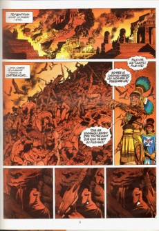 Extrait de Quetzalcoatl -3- Les cauchemars de Moctezuma