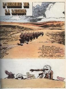 Extrait de L'homme de la légion - L'Homme de la Légion