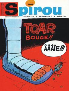 Extrait de (Recueil) Spirou (Album du journal) -103- Spirou album du journal