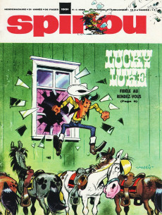 Extrait de (Recueil) Spirou (Album du journal) -108- Spirou album du journal