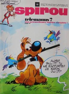 Extrait de (Recueil) Spirou (Album du journal) -118- Spirou album du journal