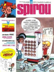 Extrait de (Recueil) Spirou (Album du journal) -136- Spirou album du journal