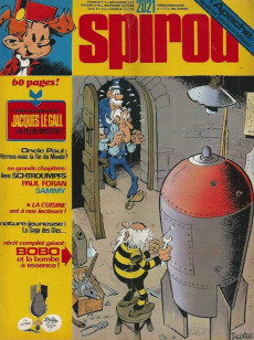 Extrait de (Recueil) Spirou (Album du journal) -144- Spirou album du journal
