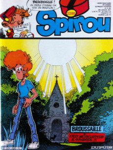 Extrait de (Recueil) Spirou (Album du journal) -165- Spirou album du journal